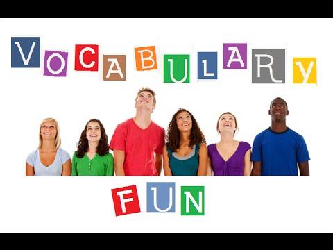 Vocabulary with Fun