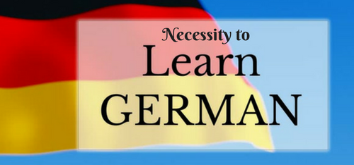 Necessity to Learn German Language