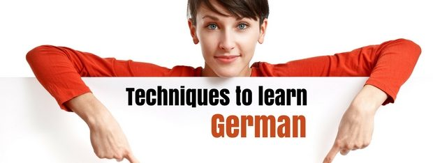 Techniques to learn German